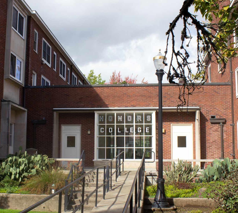 Sackett Hall outside